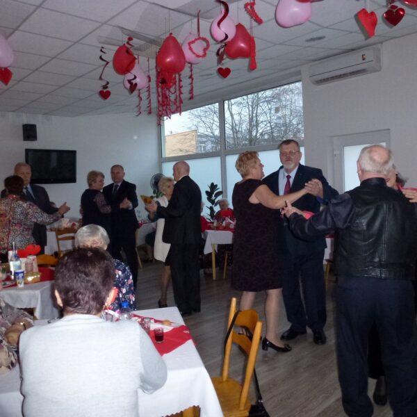 Wieczorek taneczny w Klubie Seniora